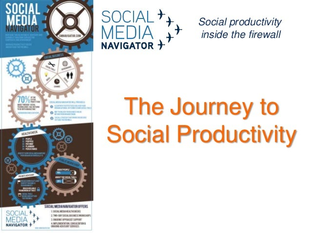 Social productivity inside the firewall  The Journey to Social Productivity