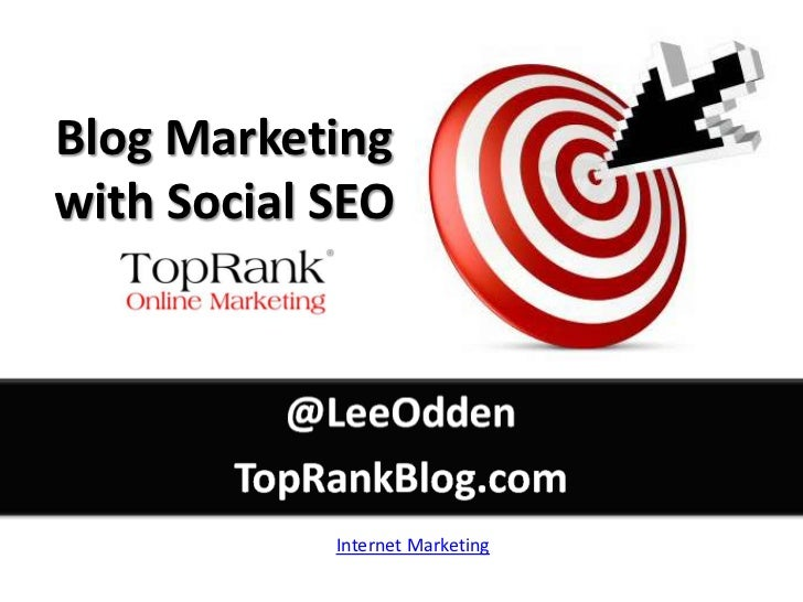 Better Blog Marketing with Social SEO