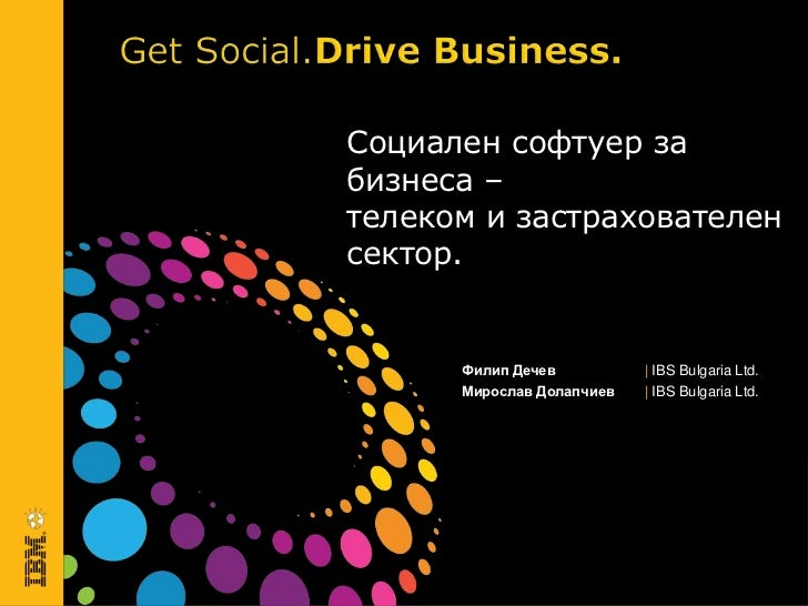 Social Software for Business - Telko&Insurance