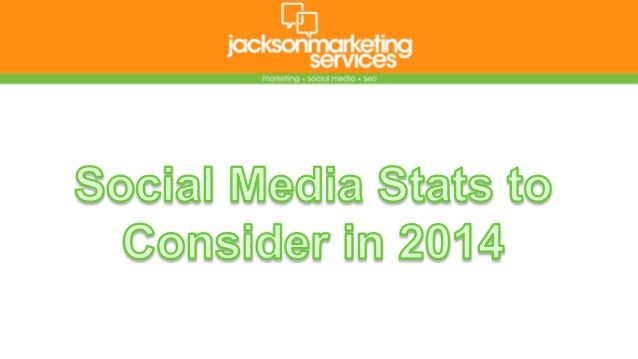 Social Media Statistics for 2014
