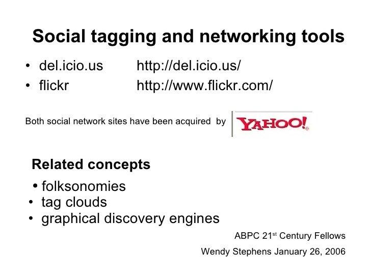 Social tagging and tools