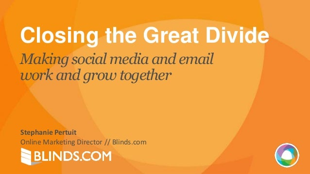 Social Media Meets Email Marketing with Blinds.com