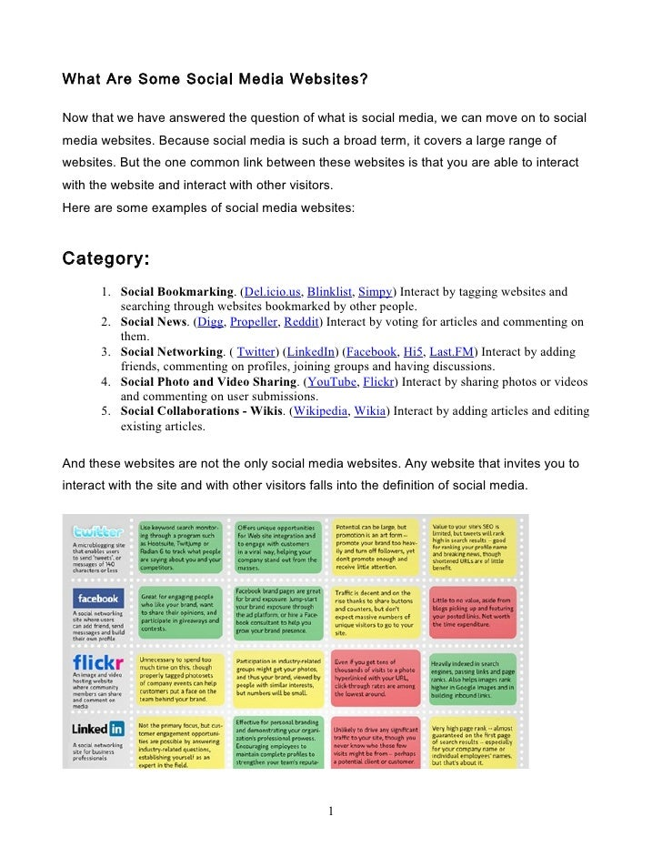 Social Media Sites to Use in the Classroom