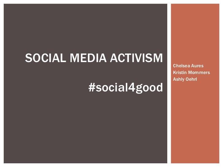 #social4good