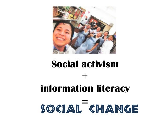 Social activism and information literacy