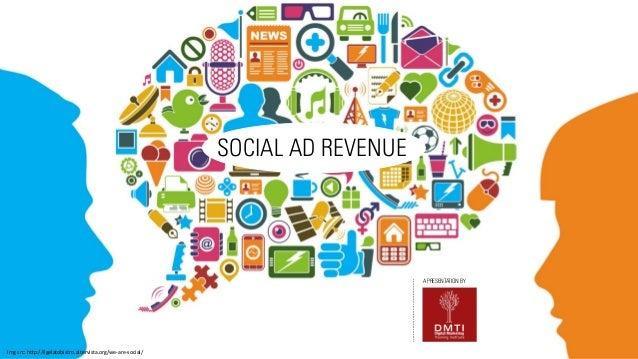 SOCIAL AD REVENUE  A PRESENTATION BY  Img  src:  h*p://ilgelatobistro.altervista.org/we-‐are-‐social/