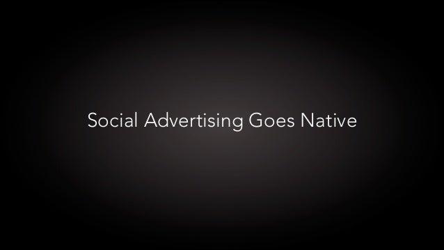 Social Advertising Goes Native