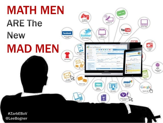 Social Analytics Math Men are the New Mad Men Keynote