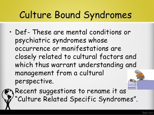 culture specific syndrome