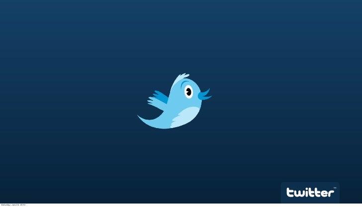 @twitterapi at SocialApp Workshop