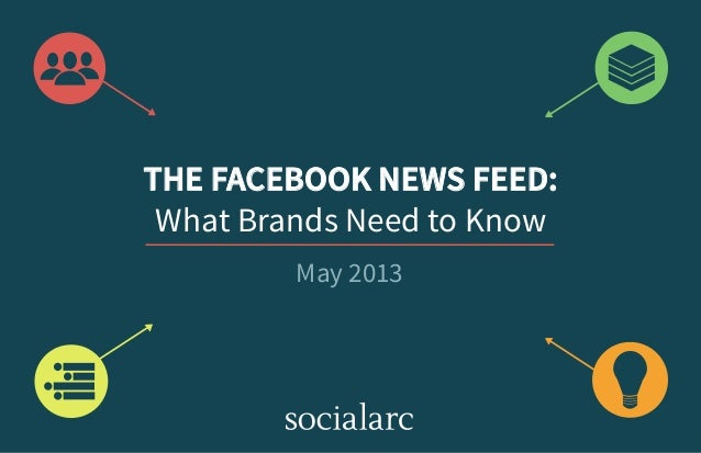 THE FACEBOOK NEWS FEED:What Brands Need to KnowMay 2013