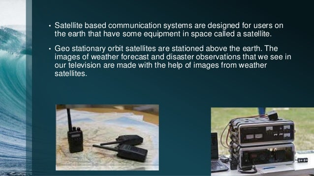 Alternative system of communication in disaster management?