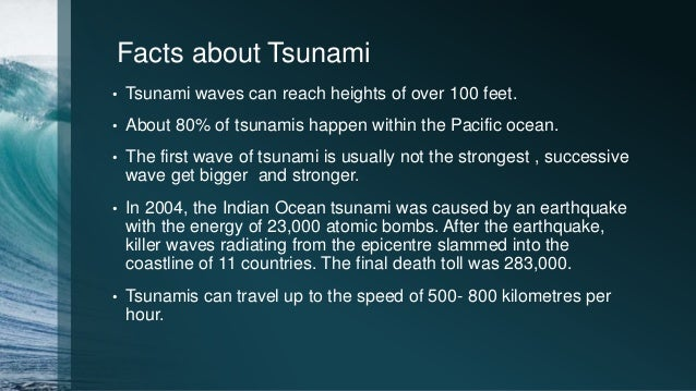 PPT on 10th disaster management Pacific Ocean Waves