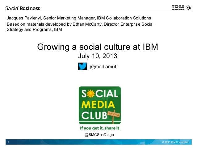 Building a social enterprise at IBM