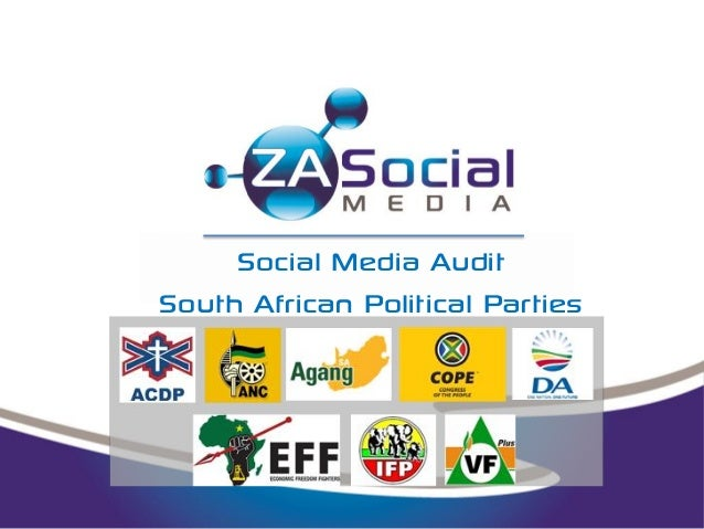 Social Media Audit - South African Political Parties