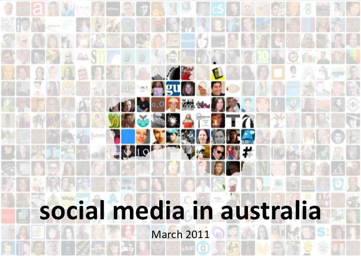 social media in australiaMarch 2011<br />