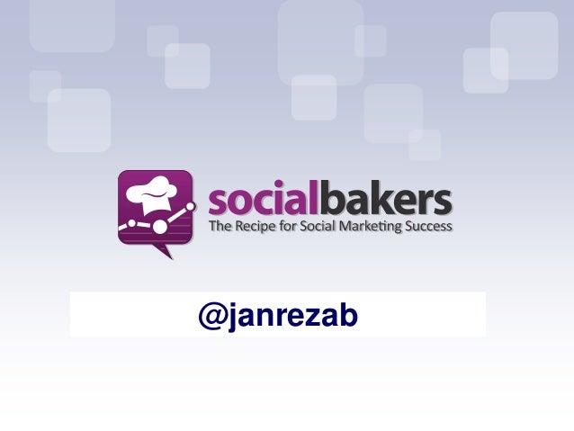 Jan Rezab: Socialbakers