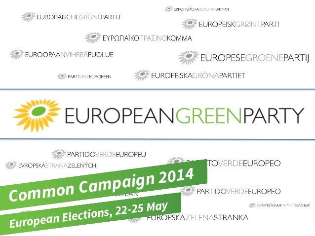 Common Campaign 2014 European Elections, 22-25 May