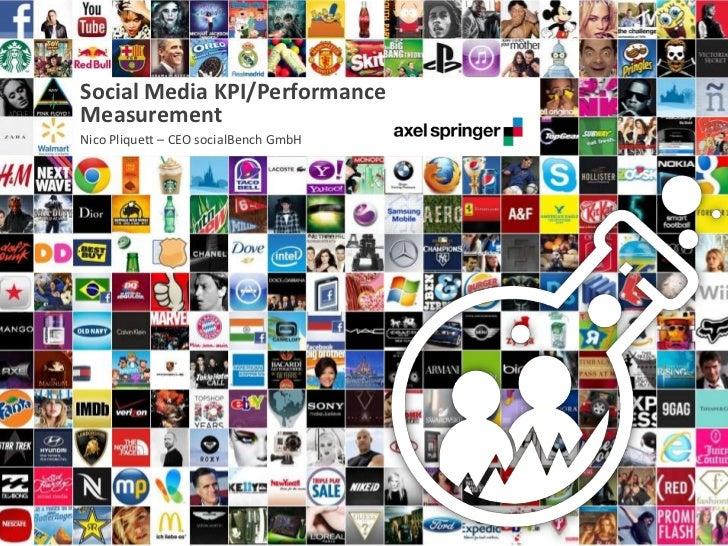 Social Media KPI/Performance      Measurement      Nico Pliquett – CEO socialBench GmbH23.02.2012                         ...