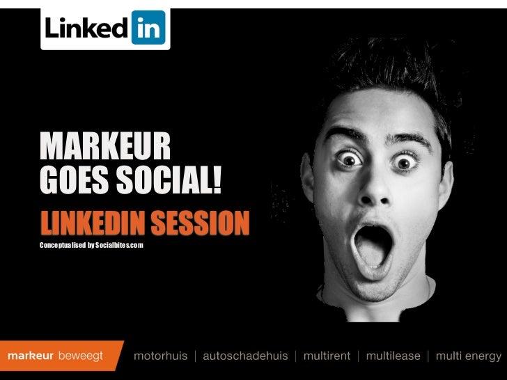 Workshop Linkedin - B2B
