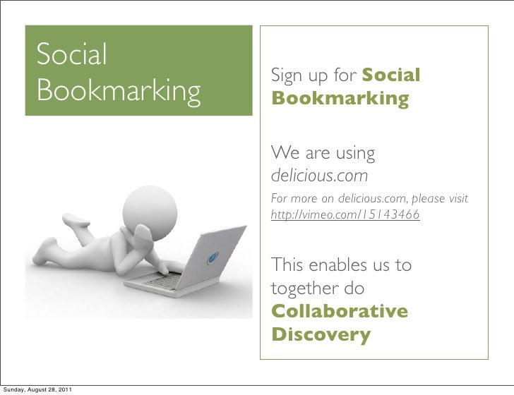 Social                          Sign up for Social          Bookmarking     Bookmarking                          We are us...