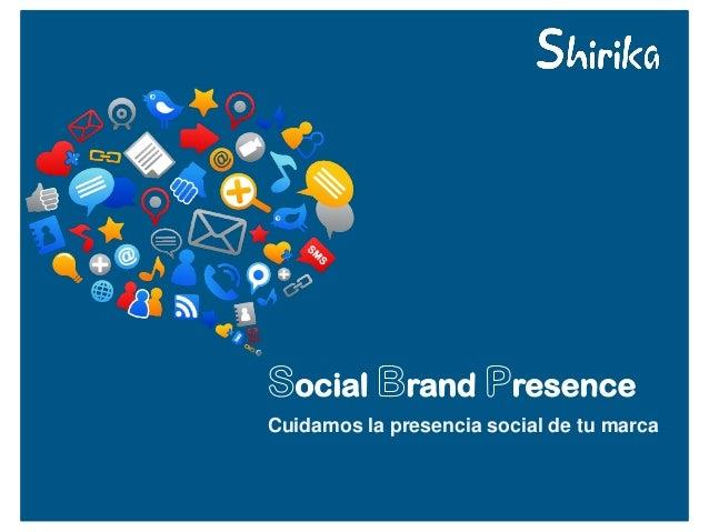 Cuidamos la presencia social de tu marca