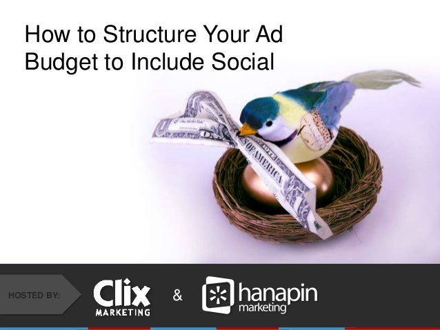 How to Structure Your Ad Budget to Include Social  HOSTED BY:  & #THINKPPC