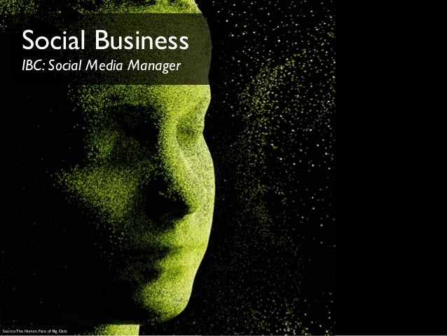 Source:The Human Face of Big DataSocial BusinessIBC: Social Media Manager