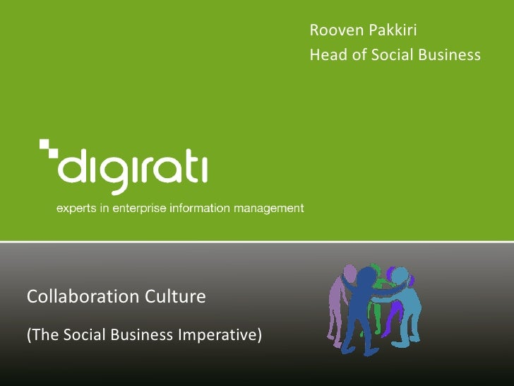 Social business & collaboration - understanding the business benefits and locating the roi
