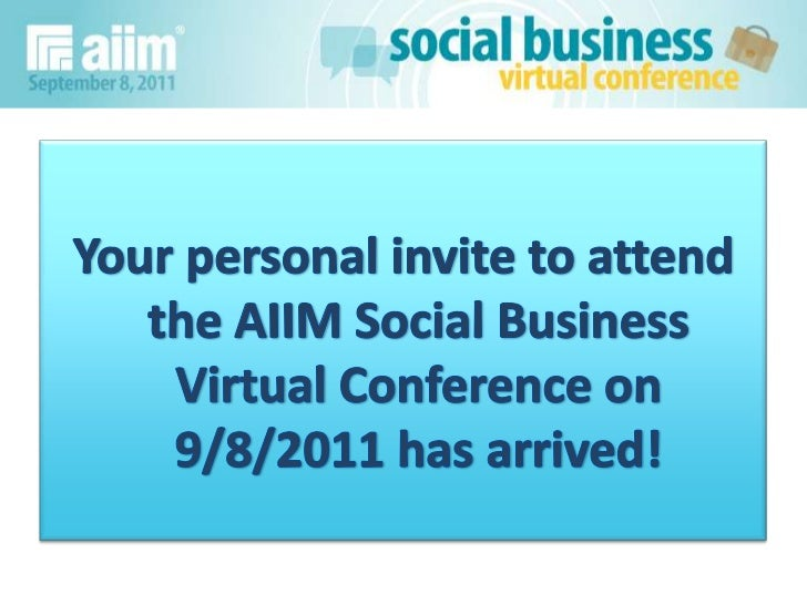 Social business conference commercial