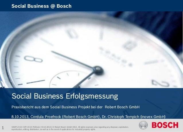 Social Business Erfolgsmessung