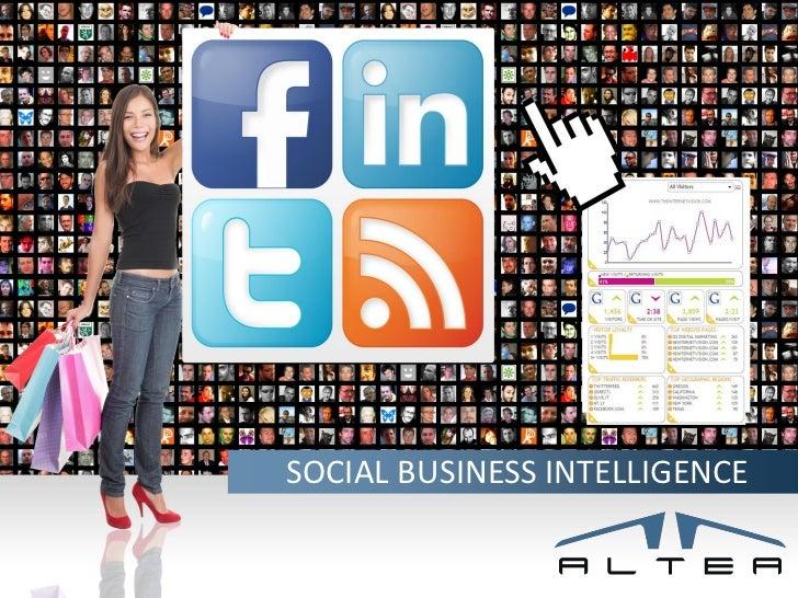 Social business intelligence altea