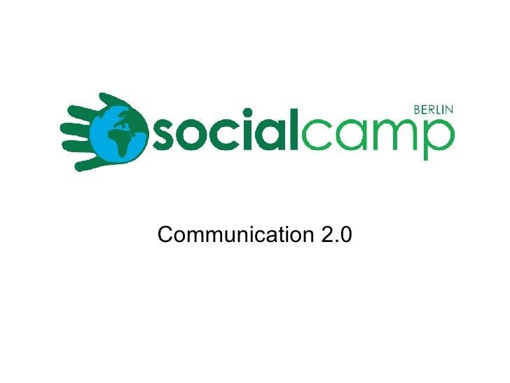 Communication 2.0
