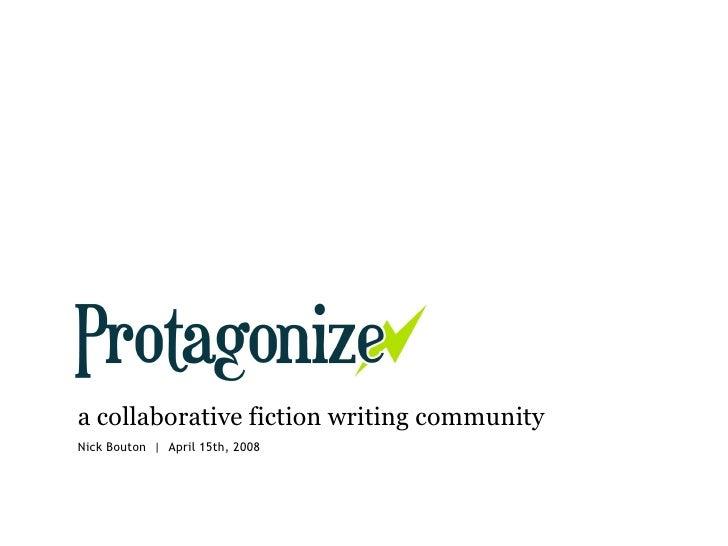Protagonize & Community Building @ SocialCamp App Nite