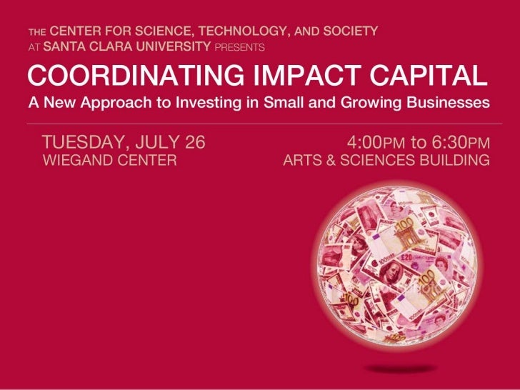 Coordinating Impact Capital