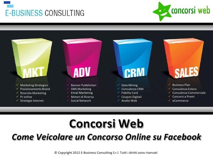 Social Case History Forum - Concorsi Online e Facebook