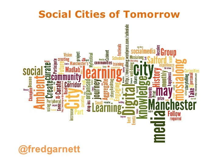 Social Cities of Tomorrow 2012