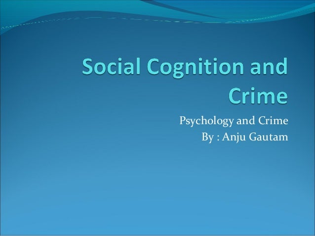 The Relations Between Socialization, Crime and Deviance