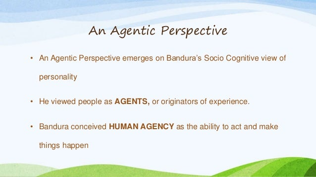 describe components of social cognitive theory that explain why the habit formed And how well they maintain the habit changes they have achieved  means4,5  social cognitive theory specifies a core set of determinants, the mechanism   they form an integral part of self-efficacy assessment self-efficacy beliefs  as  defined and operationalized, these are outcome expectations, not attitudes as  tradi.