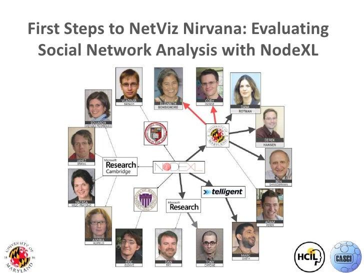 First Steps to NetViz Nirvana: Evaluating Social Network Analysis with NodeXL<br />1<br />