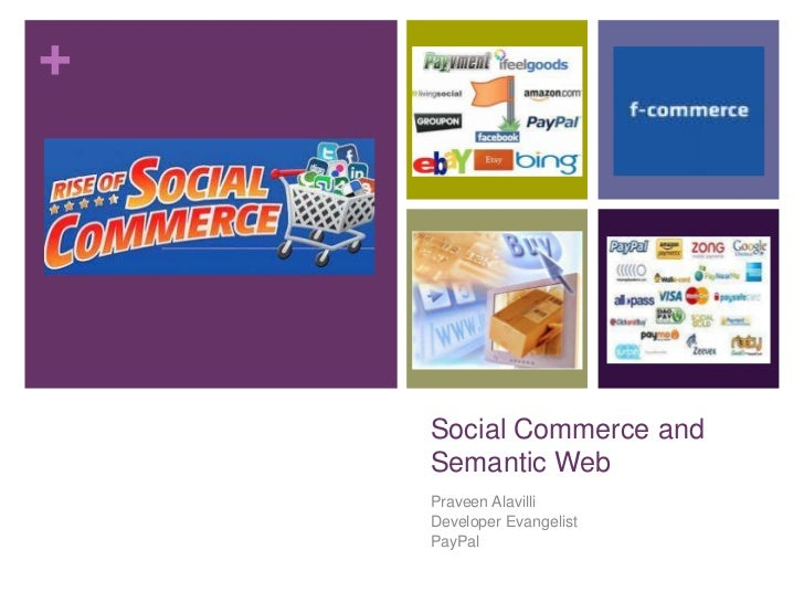 Social Commerce and Semantic Web