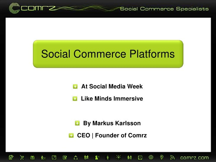 Social Commerce Platforms
