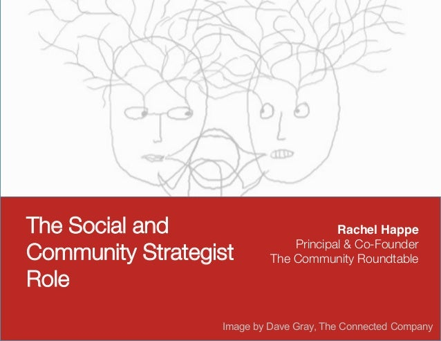 The Social and                         Rachel Happe!                               Principal & Co-FounderCommunity Strateg...
