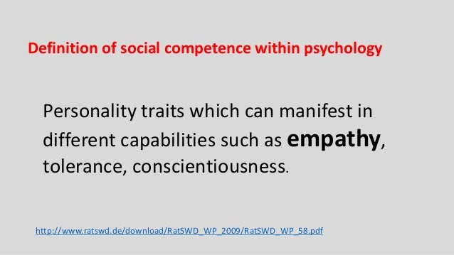 social competence crucial for stable social Students' social skills are critical to learning and achievement, but the social competence of their teachers may be just as important to the classroom, says a recent study in the review of educational research.