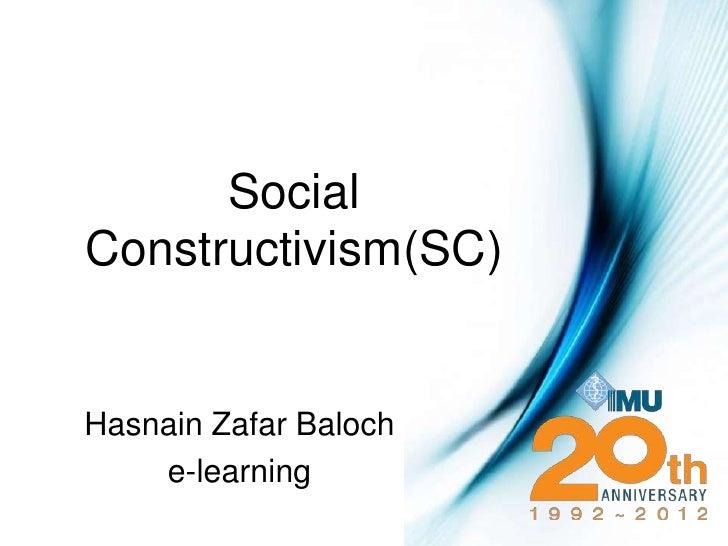 Social constructivism(sc)24v1