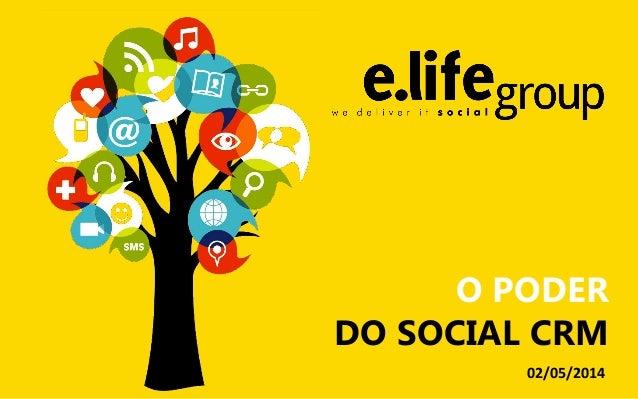 O PODER DO SOCIAL CRM 02/05/2014