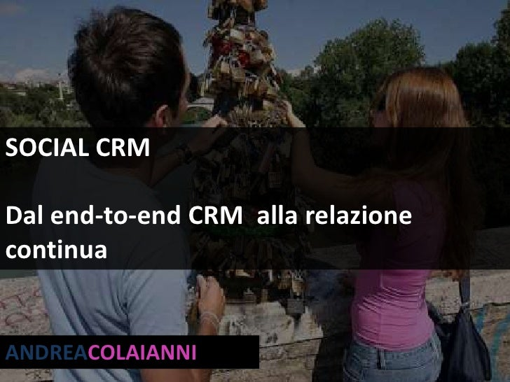 Social CRM - Revisited