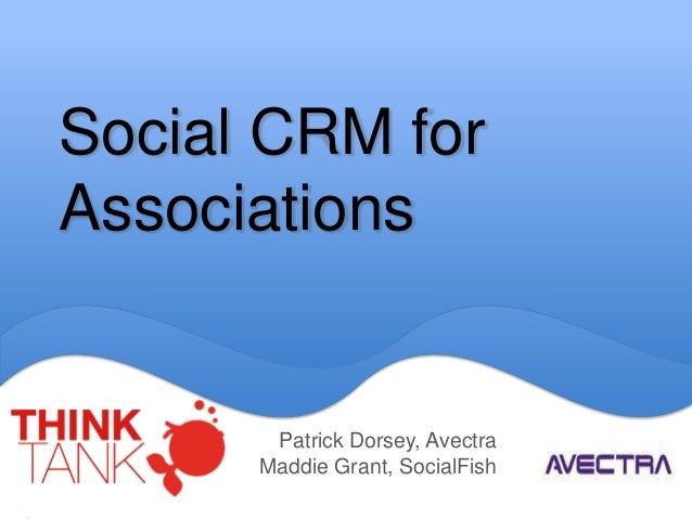 Social CRM for Associations