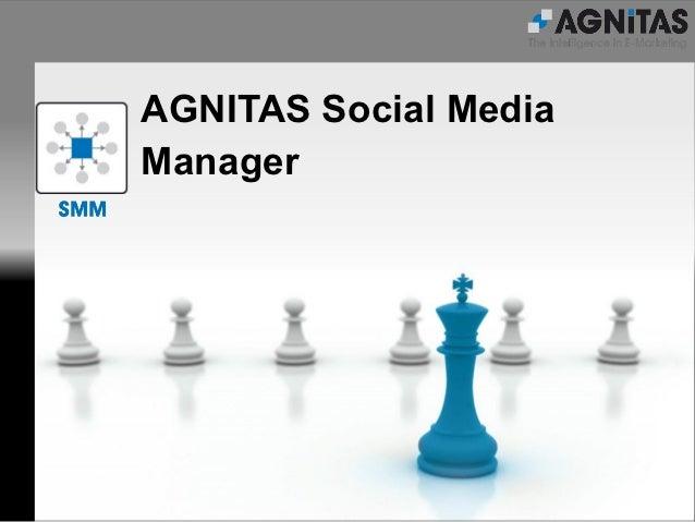 AGNITAS Social MediaManager