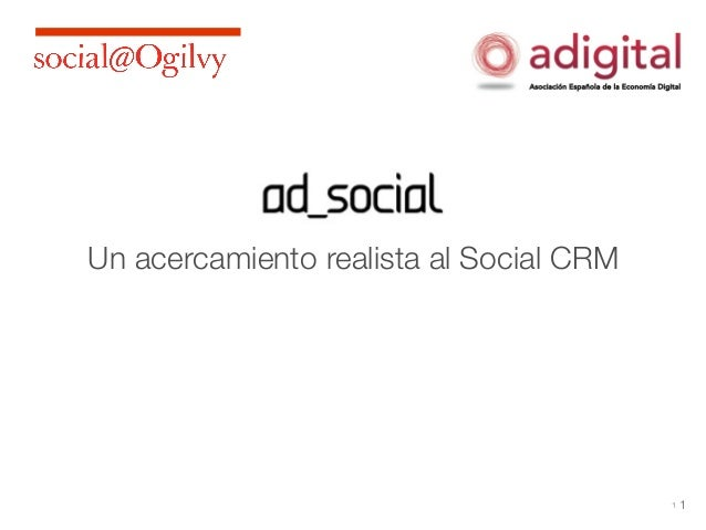 Un acercamiento realista al Social CRM